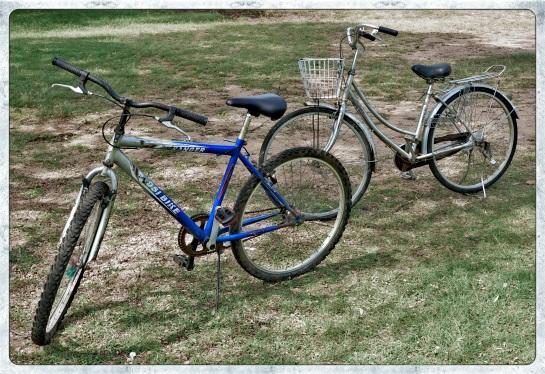 Archaeology on a bike