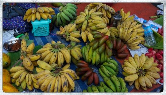 Bananas for sale - Yangon