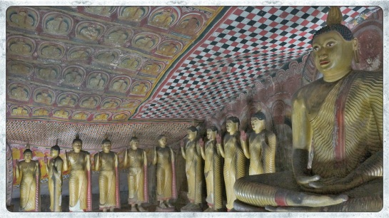 Dambulla rock caves 3