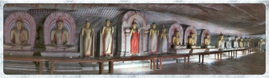 Dambulla rock caves 5