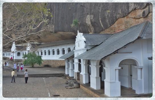 Dambulla rock caves 6