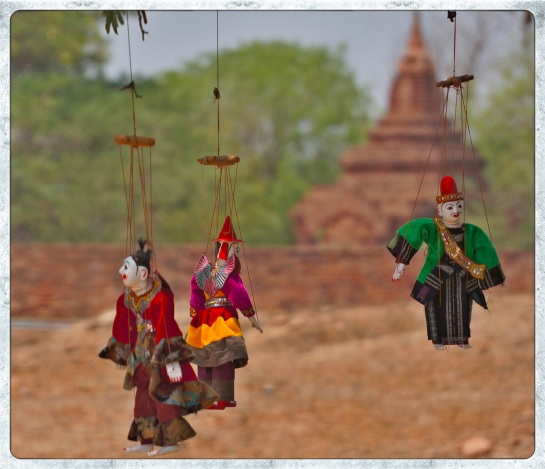 Dhammayangyi Pahto - marionettes for sale