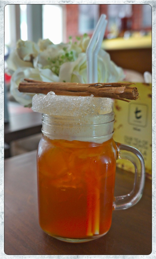 Dilmah T-lounge - cinnamon iced tea