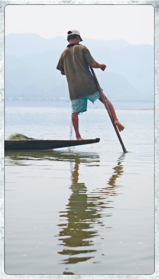 Fisherman on Inle Lake - 2