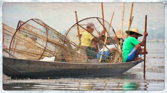 Fishermen on Inle Lake - 3