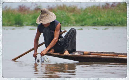 fishermen on Inle Lake 7