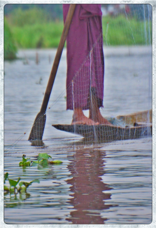 fishermen on Inle Lake 8