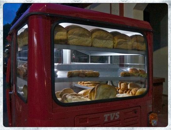 Galle Fort - baker's van