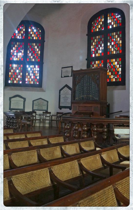 Galle Fort - interior Old Dutch Reform Church