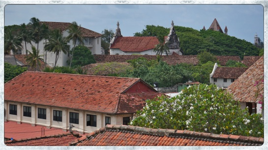 Galle Fort - roof tops