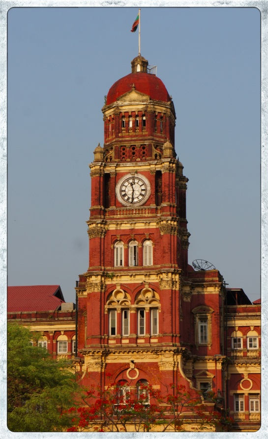 High Court building - Yangon