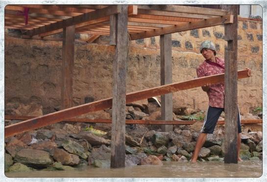 Nyuang Shwe - wharf construction