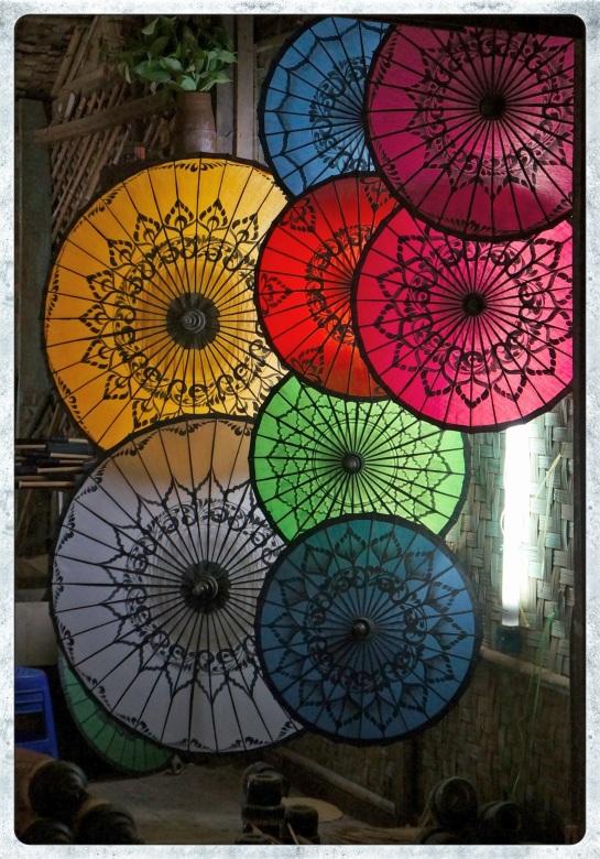 parasol shop - Nyaung U