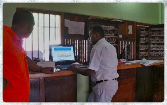 Polonnaruwa Station - tickets to Colombo