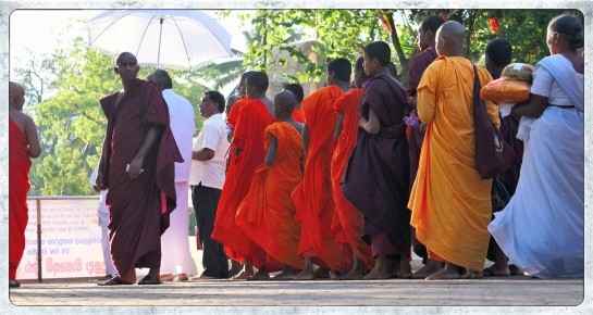 procession into the Temple of the Sacred Tooth Relic