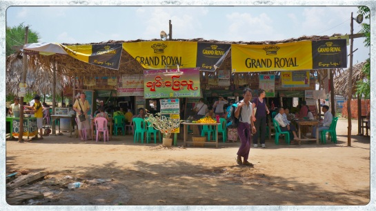 Roadside stall - Mandalay to Bagan