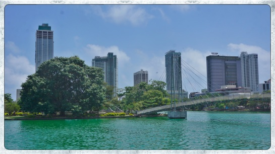South Beira Lake, Colombo - looking towards city centre