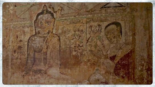 Sulamani Pahto - interior fresco