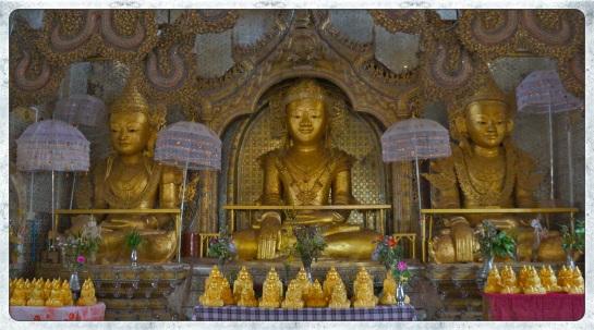 Thaung Tho Pagoda - Buddhas