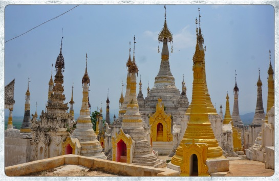 Thaung Tho Pagoda - Lake Inle
