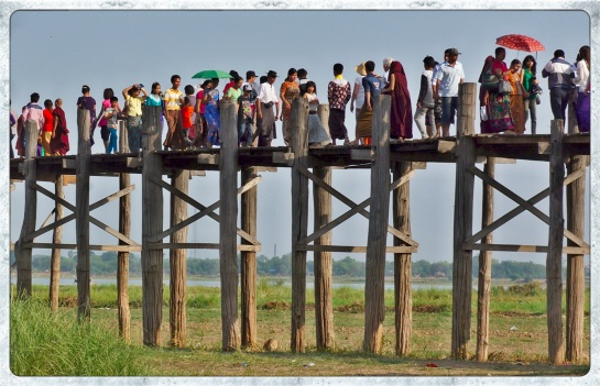 U Bein Bridge 11