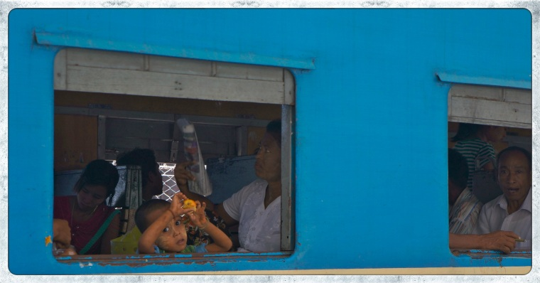 station-stop-kyauk-tan-on-the-way-to-bago | A Train Trip From Yangon To Bago, Myanmar | Lynn B. Walsh #ShiftYourPerspective | BL | Black Lion Journal | Black Lion