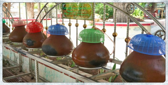 Water Jars at Mahamuni Paya
