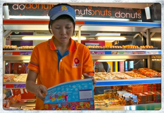 Yangon - donut shop
