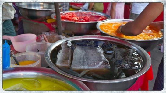 Yangon - iced drinks station