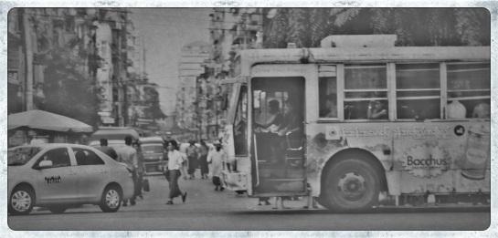 Yangon streetscape 1
