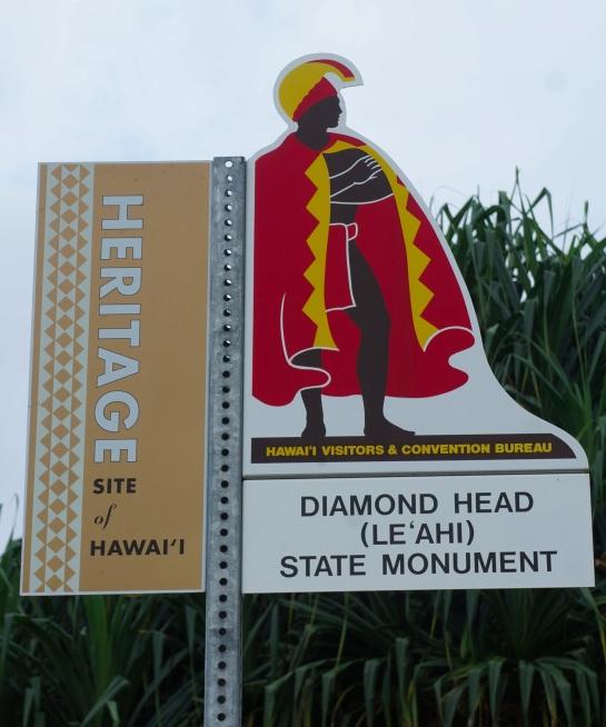 Diamond Head signage
