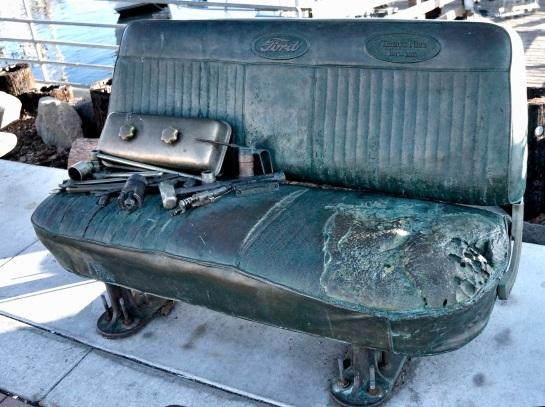 Memorial bench - Morro Bay CA - %22Thanks Nick%22