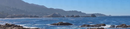 Point Lobos CA - coastline panorama