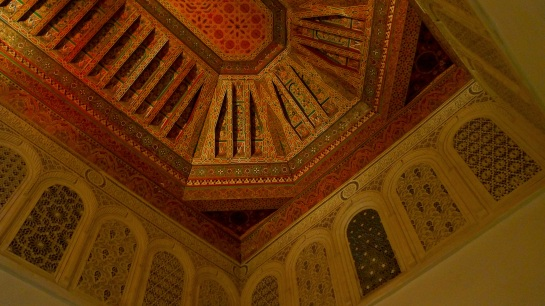 Bahia Palace - ceiling detail 2