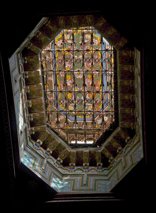 Bahia Palace - skylight detail