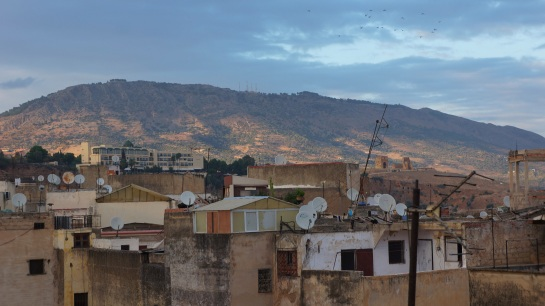 Fes - rooftop view 12 Oct 2015