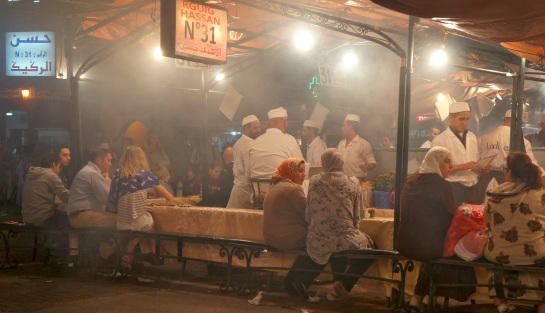 Food stall - Djamaa el Fna Square