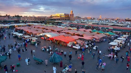 Food stalls - Djamaa el Fna Square