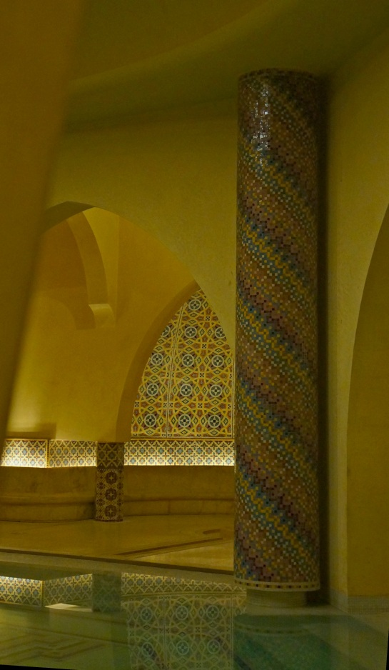 Hassan II mosque - baths