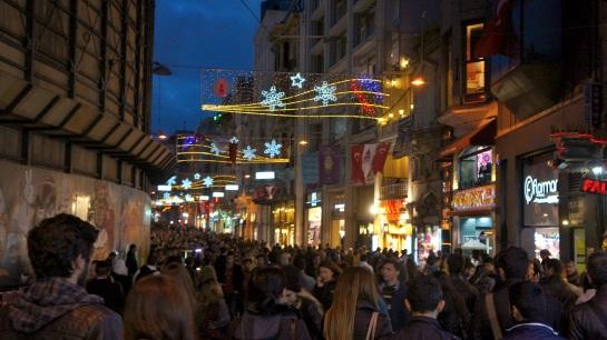Istanbul Day 2 - Friday night - Taksim