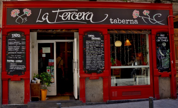 La Tercera taberna restaurant in Spain
