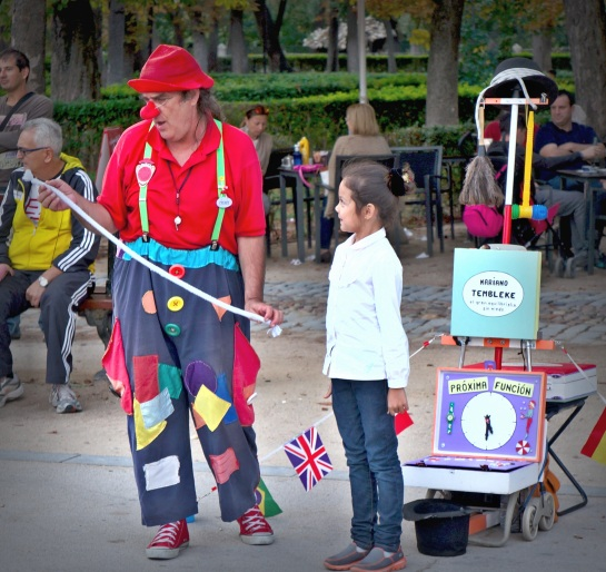 Madrid - street performers 2