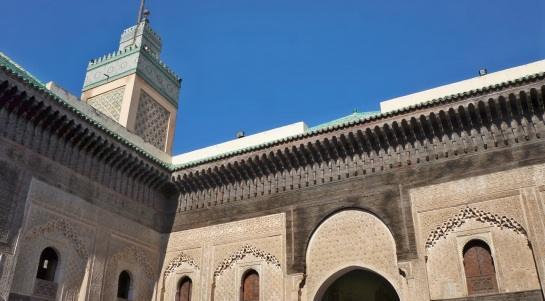 Medarsa Bou Inania - minaret