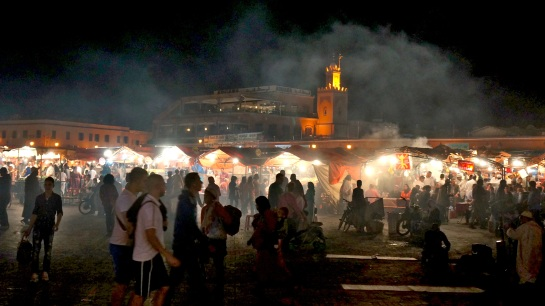 Nightly food markets - Marrakesh - Djamaa el-Fna