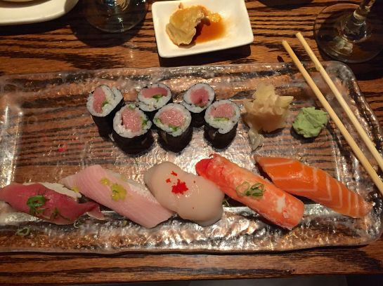 NYC - 29 Sep 2015 - Sushi for dinner