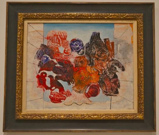 Reina Sofia Museum - Max Ernst - Oiseaux Rouges