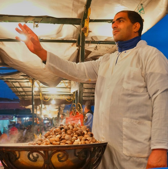 Snail seller - Djamaa el Fna Square