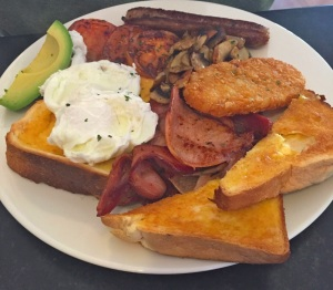 Big breakfast - Willow Tree Cafe - Tenterfield - 5 June 2016