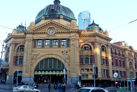 Flinders Street Station - Melbourne - 13 June 2016