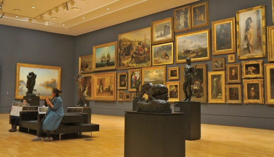 National Gallery of Victoria - interior - Melbourne - 13 June 2016